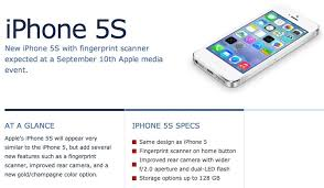 iPhone 5S Apple iWatch And iPhone 5C Design Specifications