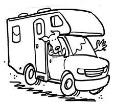 Unmounted Rubber Stamps RV Travel Vacation Family Dogs Camping
