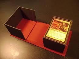 magic edh deck box check out my handmade deck box artwork creativity