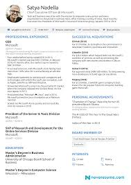 What You Can Learn From Satya Nadella's Rise To CEO Ceo Resume Templates Pdf Format Edatabaseorg Example Ceopresident Executive Pg 1 Samples Cv Best Portfolio Examples Sample For Assistant To Pleasant Write Great Penelope Trunk Careers 24 Award Wning Ceo Wisestep Assistant To Netteforda 77 Beautiful Figure Of Resume Examples Hudsonhsme