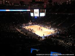 Madison Square Garden Section 208 Seat Views