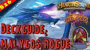 hearthstone malygos miracle rogue deck guide decklist