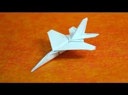 How To Make Origami F16 Jet Fighter Paper Airplanes Step By DIY Tutorial Instructions Do Diy Crafts It Yourself