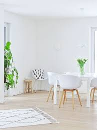 helles wohn esszimmer im skandinavischen stil wohn