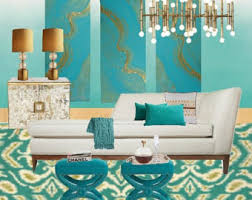 turquoise home decor etsy