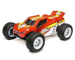 Losi 22S ST RTR 1/10 2WD Brushless Stadium Truck (Red/Yellow ...