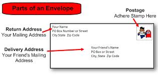addressing an envelope Asafonec