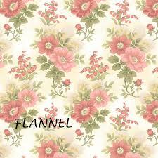 100 Flannel Flower Glass Peach Cream Floral Henry Gentle Garden F8279 Etsy