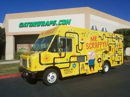 Mr Scrappy's Food Truck Wrap - Gator Wraps