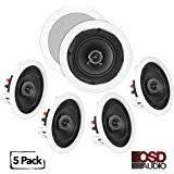 amazon com bogen 2 pack 2x2 drop in ceiling speaker home audio