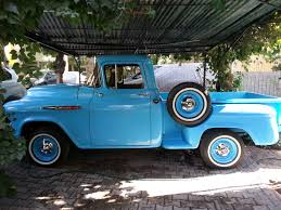 100 Chevy Stepside Truck For Sale My Vintage Garage By Yavuz Laan 57 3100
