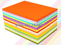 Multicolour Heavy Copy Paper A4 120g Thin Cardboard Art 100 Sheets MIX Color 180g