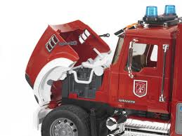 Bruder: Mack Granite Fire Engine | Toy | At Mighty Ape NZ Bruder Mack Granite Fire Engine With Slewing Ladder Water Pump Toys Cullens Babyland Pyland Man Tga Crane Truck Lights And So Buy Mack Tank 02827 Toy W Ladder Scania R Serie L S Module Laddwater Pumplightssounds 3675 Mb Across Bruder Toys Sound Youtube Land Rover Vehicle At Mighty Ape Nz Arocs With Light 03670 116th By