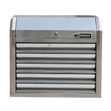 Shop Kobalt 27-in W X 23.2-in H 5-Drawer Ball-bearing Stainless ...