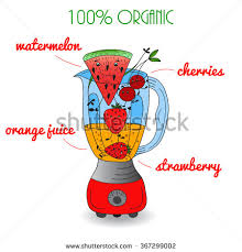 Smoothie Clipart Red 5