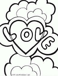 Love Coloring Pages Archives Best Page For Kids Online
