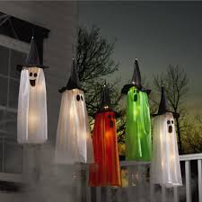 Christmas Tree Shop Middleboro Ma by Hanging Halloween Lighted Ghosts Set Of 5 Christmas Tree Shops