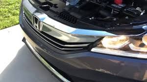 2013 2017 honda accord high beam bulb replacement diy