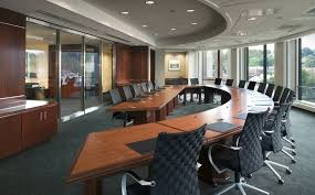 Curved Boardroom How Workspace Design Affects Workflow