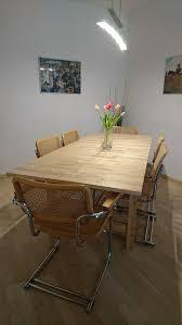 6 freischwinger stühle nachbau marcel breuer in 76646