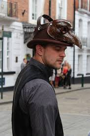 Man Person Road Street Vintage Steam Male Industrial Hat Grunge Clothing Black Punk Steampunk Mysterious Fiction