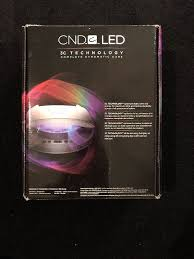 Cnd Shellac Led Lamp Wattage by Cnd Cosmetics Cnd Led Lamp Ebay