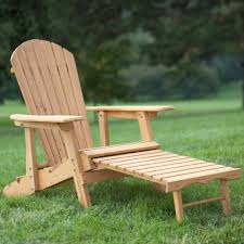 Reclining Lawn Chair With Footrest by Amazon Com Big Daddy Reclining Adirondack Chair With Pull Out