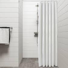 bastsjön duschvorhang weiß grau beige 180x200 cm ikea