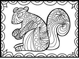 FREE Fall Coloring Activity Great For Relaxation Relieving Anxiety And Just Plain Fun