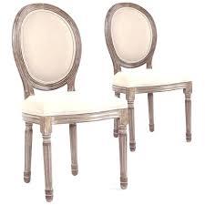chaises m daillon pas cher medaillon louis xvi 12 avec lot de 2 chaises m daillon xvi menzzo
