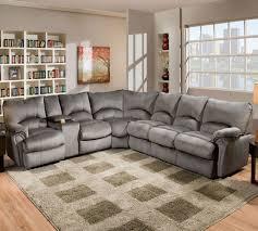 Cb2 Piazza Sofa Craigslist by Gray Leather Reclining Sectional Sofa Www Energywarden Net