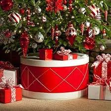 Encase The Base Of Your Tree In A Festive Holiday Drum With Jigsaw Some Plywood And Will To DIY This Cheerful Stand Can Be Yours