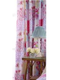 Pink Ruffle Curtains Uk by Buy Vintage Ditsy Print Blackout Pencil Pleat Curtain From The