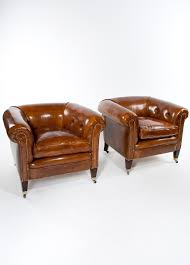 Quality Pair Of Antique Leather Tub Armchairs (1910 England) From ... Hudson Sofa Halo Living Leather Armchairs A Pair Of Danish The Fniture Rooms Desk Chairs Cheap Office Uk Executive Chair Professor Simply Stunning Oversized Lillian August Brown Tufted English Chesterfield Antique Uk Ding Sofas Cool Black Armchair 28342 Soldantique Brown Leather Chesterfield Armchair Distressed Aecagraorg High Back Fireside Chest Arm 20500 In Modern Classic Designs Dfs