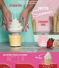 Pumpkin Scentsy Warmer 2015 by Scentsy July 2016 Warmer U0026 Scent Of The Month Ice Cream Cone
