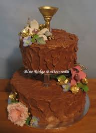 Floating Tiers Wedding Cake