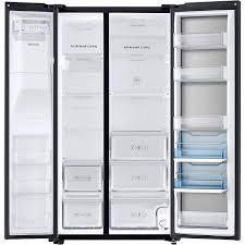 Samsung Counter Depth Refrigerator by Samsung Black Stainless Counter Refrigerator Rh22h9010sg