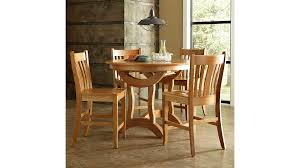 Crescent Round Pub Table – Borkholder Furniture