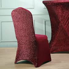 Burgundy Spandex Stretch Banquet Chair Cover With Metallic Glittering Back Spandex Chair Cover Burgundy Banquet Red Cindy Recipe Hi Bar Table Cloth Products For Absolutely Fabulous Events And Productions Deconovo Set Of 4pcs Color Covers Removable Stretch Slipcovers Ding Wedding Decor Premium Red Spandex Lycra Banquet Chair Covers Weddingsoccasions 1 4 6 10 20 30 40 50 70 100 Lifetime Folding Lellen Piece New Design Special Large Polyester Xl Hight Back Seat Room Banquet Best Promo 2987 Christmas Decoration Lacys Rentals Denver Colorado High Quality Soft Slipcover
