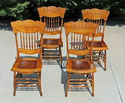 4~ Antique Victorian Oak Pressed & Spindle Back Dining Chairs Circa ... Tiger Oak Fniture Antique 1900 S Tiger Oak Round Pedestal With Ding Chairs French Gothic Set 6 Wood Leather 4 Victorian Pressed Spindle Back Circa Room 1900s For Sale At Pamono Antique Ding Chairs Of Eight Chippendale Style Mahogany 10 Arts Crafts Seats C1900 Glagow Antiques Atlas Edwardian Queen Anne Revival Table 8 Early Sets 001940s Extendable With Ball Claw Feet Idenfication Guide