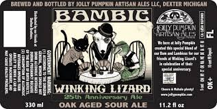 Jolly Pumpkin Artisan Ales Bam Biere by Jolly Pumpkin Biere De Mars Grand Reserve Bambic To Be Released