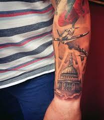 Patriotic Military Tattoos For Guys