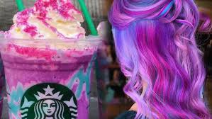 The Newest Hair Trend Is Based On Unicorn Frap And World Officially Coming