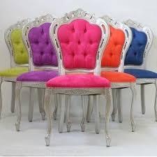 silver vanity chair foter