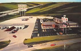 100 Illinois Auto Truck Geneseo Deck PlazaTexaco Best Western Motel