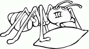 Special Ant Coloring Page Top Kids Do Unknown S Design Ideas For You Man Pages