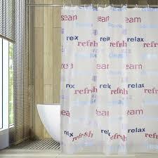 peva wasserdicht duschvorhang buchstaben muster badezimmer vorhang duschabtrennung dusche bad vorhang 3