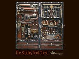 the h o studley tool chest finewoodworking