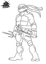 Coloriage Tortue Ninja Raphael Sensationnel Anniversaire Tortue