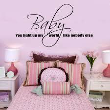 baby you light up my world one direction wall sticker lyrics vinyl
